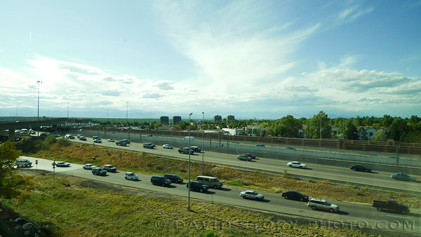 Traffic in Denver.