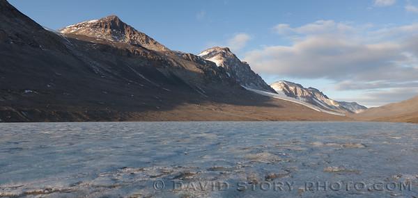 Lake Bonney, Antarctica.