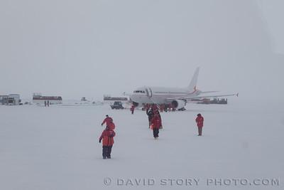 Arrival via Airbus.