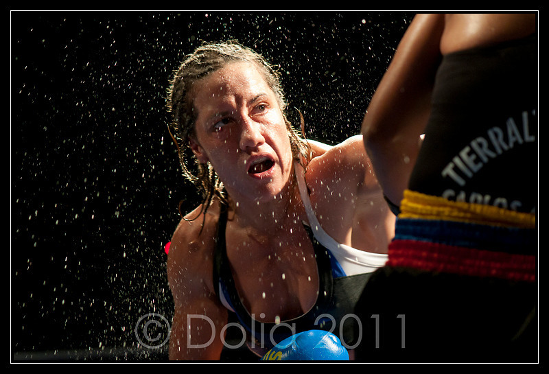 Myriam Lamare Championne du monde WBC et WBF