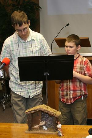 Beach Evangelical Church Christmas Program:  12/18/11