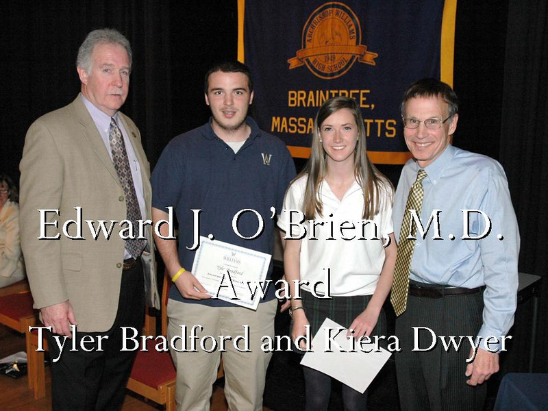 Edward J O'Brien MD Award