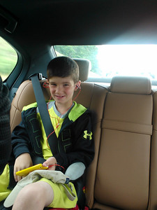 Z on his way to his 1st USTA Tennis Tournament