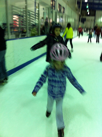 01.16.12 Remi Ice Skating 1st Time