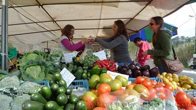 Fresh veggies at a roadside market. Sintra, Portugal.