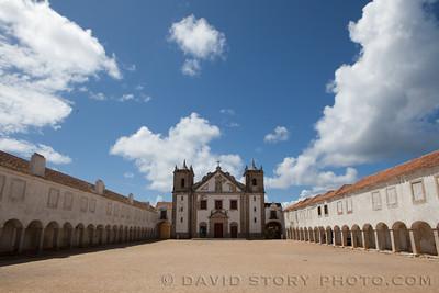 Santuário de Nossa Senhora do Cabo Espichel, Portugal.