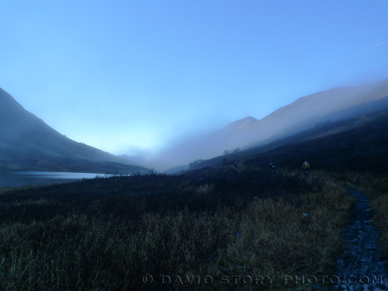 Fog descends on Devil's Pass.