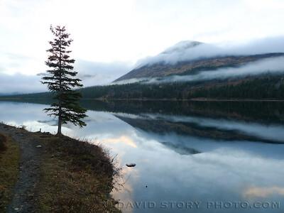 Juneau Lake.