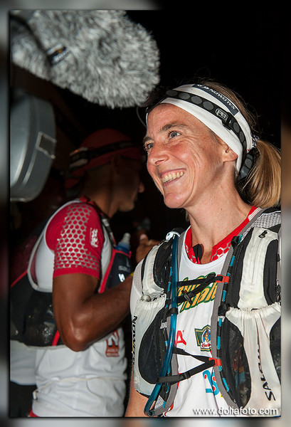 Julia BOTTGER, team Salomon, 3ème au scratch