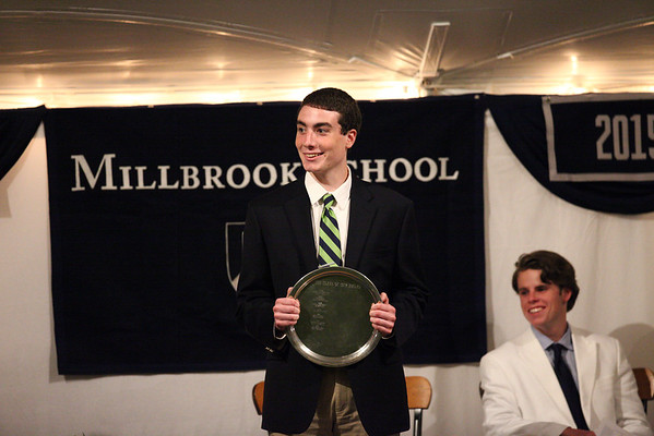 Zack Keller-Coffey '13, winner of the Class of 1978 Award