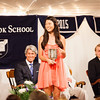 Ashlyn Kang '13, winner of the Sykes Mathematics Prize