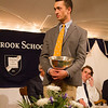 Gabe Fekete '13, winner of the Roosevelt Prize for Public Service