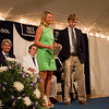 Morgan Davis '13 and Connor Elsenbeck '13, winners of the Frederick W. Knutson Trophies