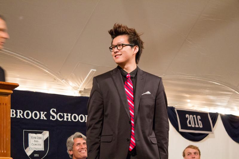 Yan Wang '13, winner of the Science Prize