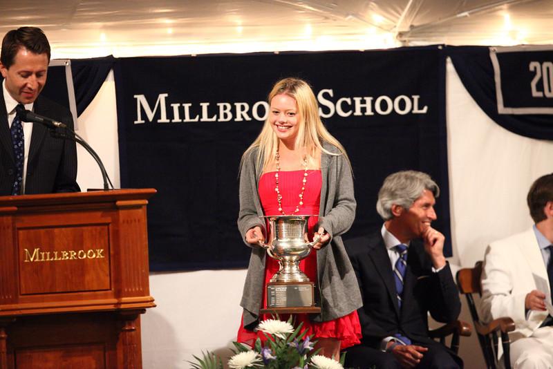 Holland Harvard '13, winner of the Frank W. Trevor Cup