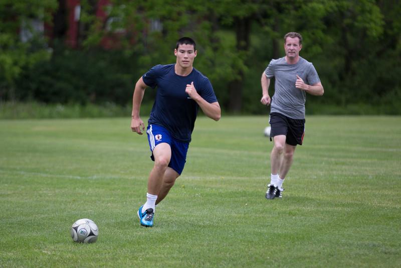 Alumni Soccer Game 16