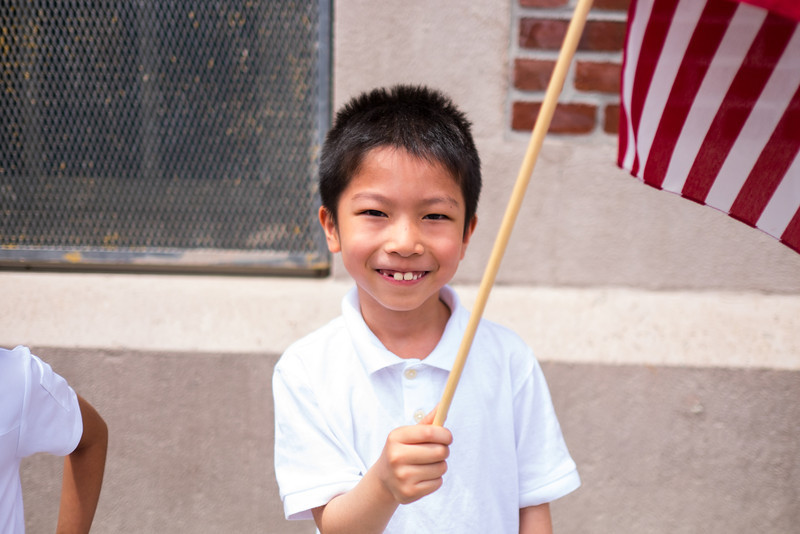 PS 102 Flag Day 2014-1