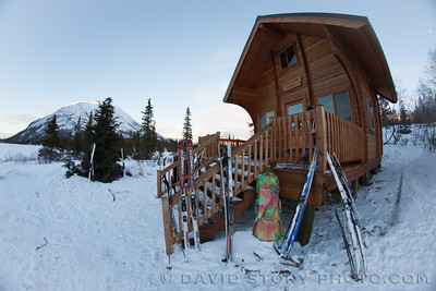 Ski stay at Trout Lake Cabin.