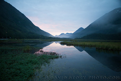 Early morning on Tern Lake. Moose Pass, AK.