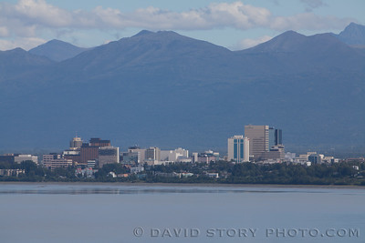 Downtown Anchorage, AK.