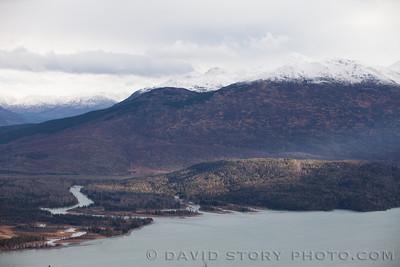 The Kenai spills into Skilak Lake.