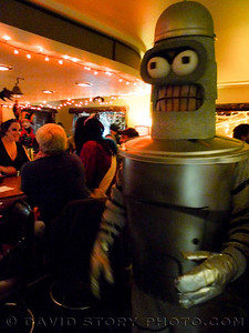 A Bender at Sunrise on Halloween.