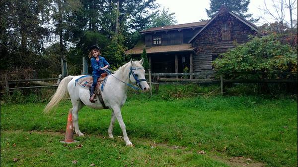10.13.13 Zane and Remi Horseback Riding