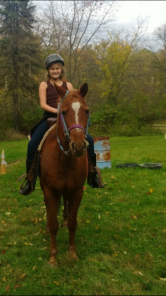 10.20.13 Girls Horseback Riding