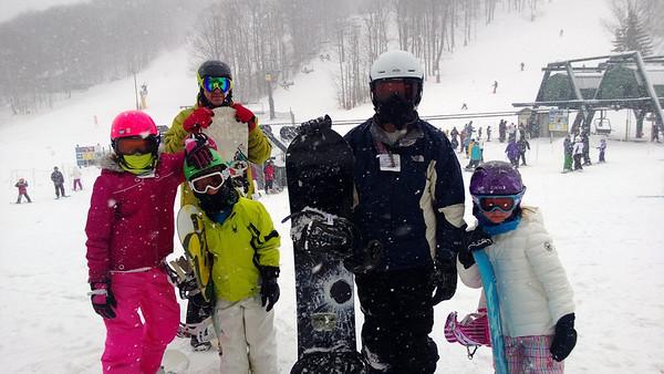 01.23.12 Hidden Valley Snowboarding
