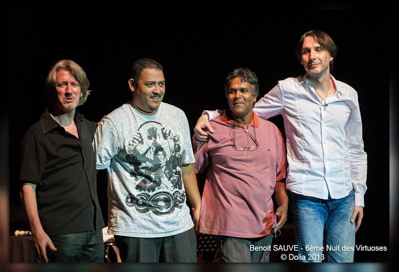 Yannick Robert - Guitare, Emmanuel Felicité - Batterie, Kiki Mariapin - BAsse, Benoit Sauvé - flûte