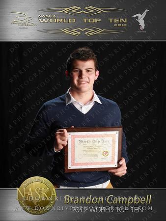 Brandon Campbell 2012 NASKA World Top Ten
