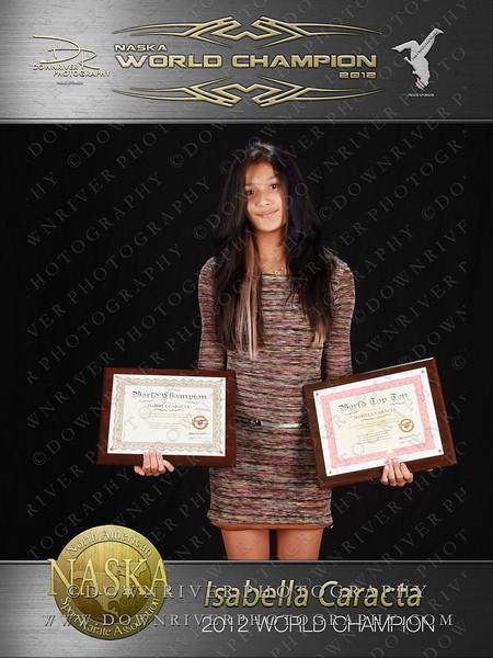 Isabella Caracta 2012 NASKA World Champion