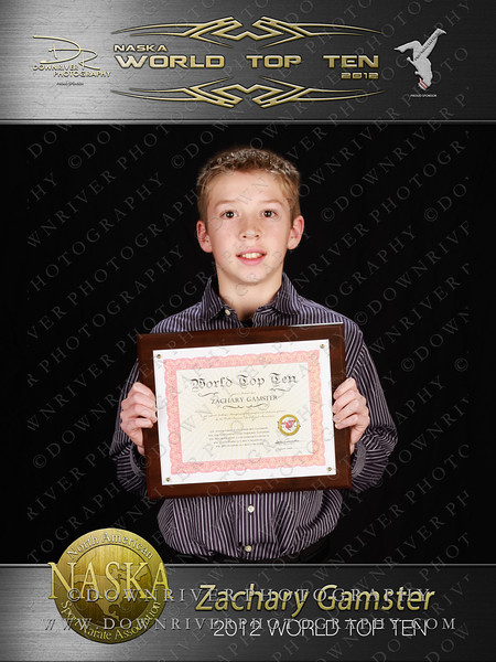 Zachary Gamster 2012 NASKA World Top 10