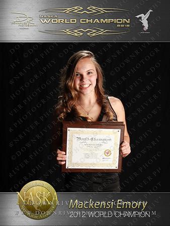 Mackensi Emory 2012 NASKA World Champion
