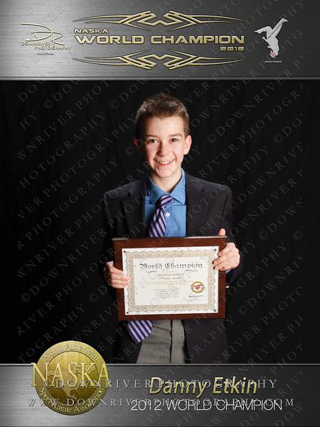 Danny Etkin 2012 NASKA World Champion
