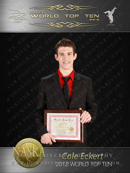 Cole Eckert 2012 NASKA World Top Ten