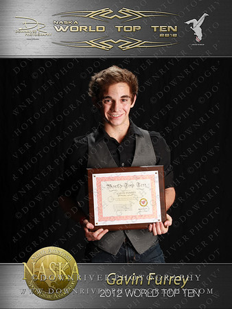 Gavin Furrey 2012 NASKA World Top Ten