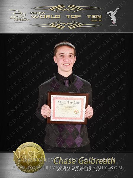 Chase Galbreath 2012 NASKA World Top 10