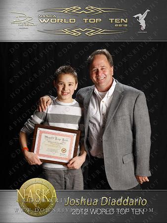 Joshua Diaddario 2012 NASKA World Top Ten