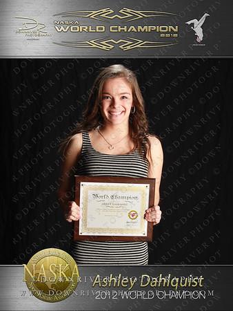 Ashley Dahlquist 2012 NASKA World Champion