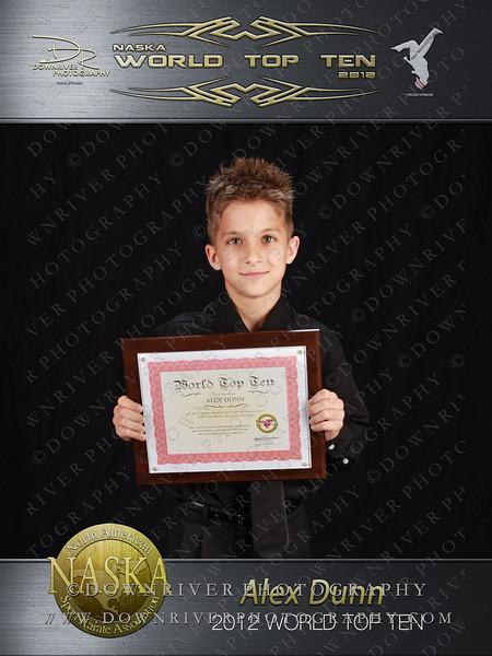 Alex Dunn 2012 NASKA World Top Ten