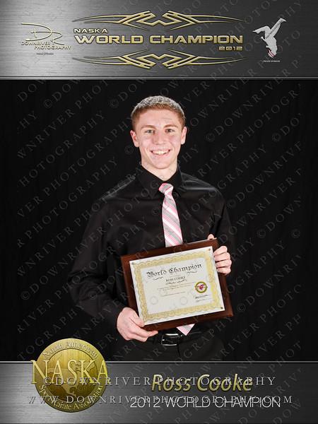 Ross Cooke 2012 NASKA World Champion