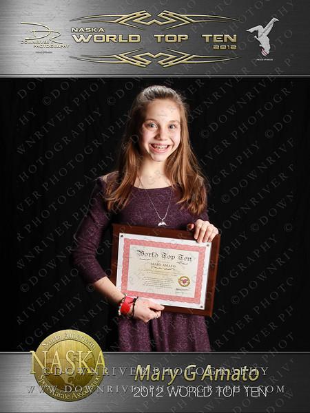 Mary Amato 2012 NASKA World Top Ten