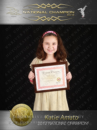 Katie Amato 2012 NASKA National Champion