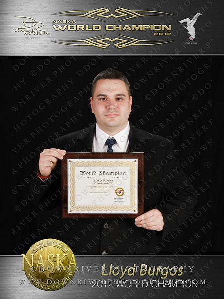 Lloyd Burgos 2012 NASKA World Champion