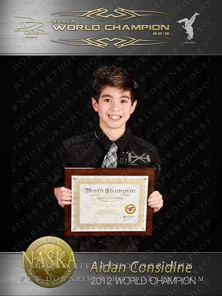 Aidan Considine 2012 NASKA World Champion