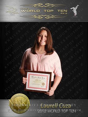 Laurell Cuza 2012 NASKA World Top Ten
