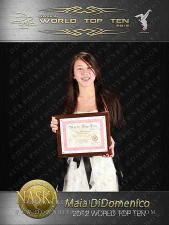 Maia DiDomenico 2012 NASKA World Top Ten