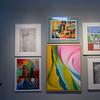 Works by Ana Hito '15, Meg Lahey '15, Jessie Riberra '15, Cate MacKenzie '15, Connor Elwell '15, Mimi Li '15