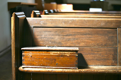 Wood on wood at St. James Church in Chipping Camden